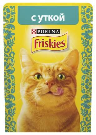 Влажный корм для кошек Friskies, утка, 24шт, 85г