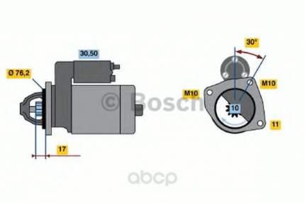 Стартер Bosch 0986016470