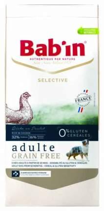 Сухой корм для собак Babin Selective Adult Grain Free, курица, рыба, 3кг