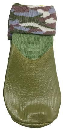 Носки для собак БАРБОСки размер S, 4 шт зеленый