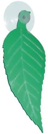 Декорация для аквариума ДАНКО Лист березовый нерестовый на присоске, пластик, 14,5х5,5х2см