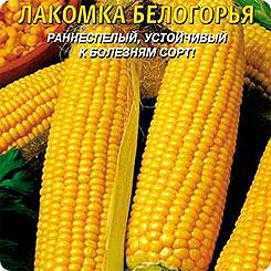 Семена Кукуруза сахарная Лакомка Белогорья, 5 г, Плазмас