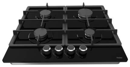 Встраиваемая варочная панель газовая Haier HHX-G64CNB Black