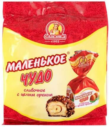 Конфеты Славянка маленькое чудо сливочное с целым орехом 206 г