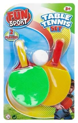 Набор для настольного тенниса Fun Sport 3002B, 2 ракетки, 1 мяча