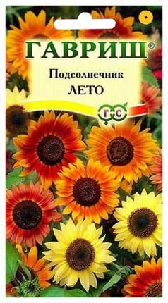 Семена Подсолнечник Лето, Смесь, 0,5 г Гавриш