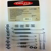 Ремкомплект пружин для задних барабанных колодок Delphi LY1180