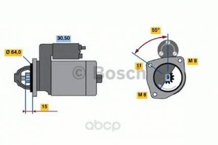 Стартер Bosch 0986018880
