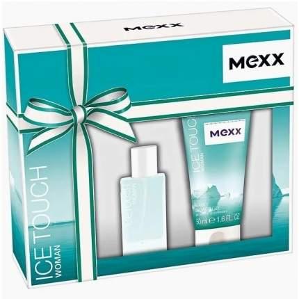 """Набор парфюмерный MEXX """"Mexx ice touch"""" туалетная вода 15 мл + гель для душа 50 мл"""