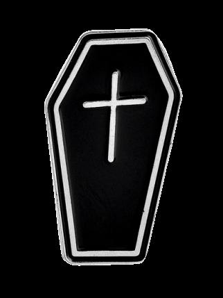 Значок Гроб, металл