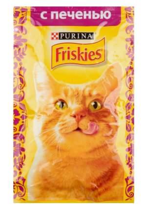 Влажный корм для кошек Friskies, печень, 85г