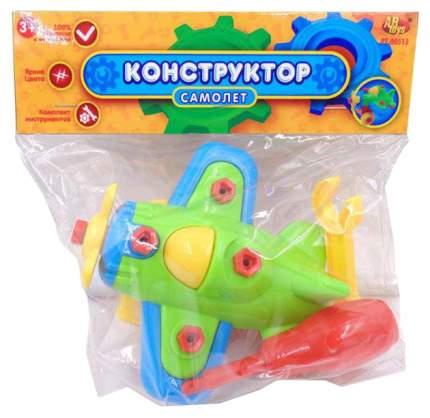 Конструктор пластиковый ABtoys Самолет PT-00513