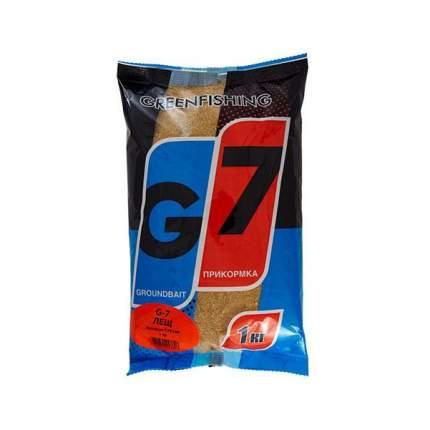 Прикормка летняя Green Fishing G7 Лещ 1 кг