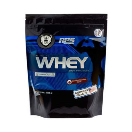 Протеин RPS Nutrition Whey Protein, 2268 г, double chocolate