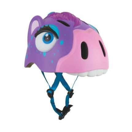 Шлем защитный детский Crazy Safety 2018 Purple Zebra сиреневый