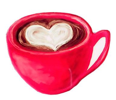 Значок Кофе, акрил