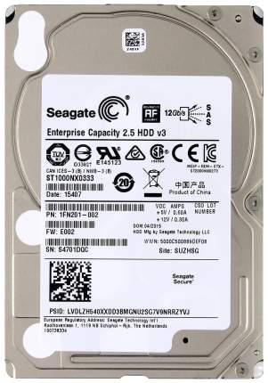 Внутренний жесткий диск Seagate Enterprise Capacity 1TB (ST1000NX0333)