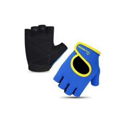 Перчатки для фитнеса Larsen 16-8347 синие L