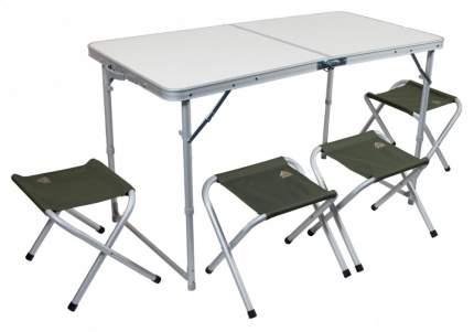 Туристический стол со стульями Trek Planet Event Set 120 белый