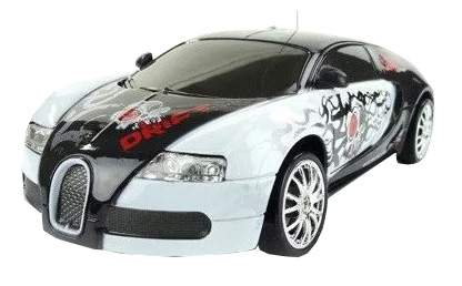 Радиоуправляемая машинка HuangBo Toys для дрифта Bugatti Veyron 1:24