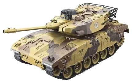 Радиоуправляемый танк House Hold Israel Merkava Желтый 1:20