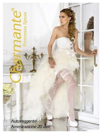 Чулки Charmante Ammirazione свадебные 20 den кремовый S-M