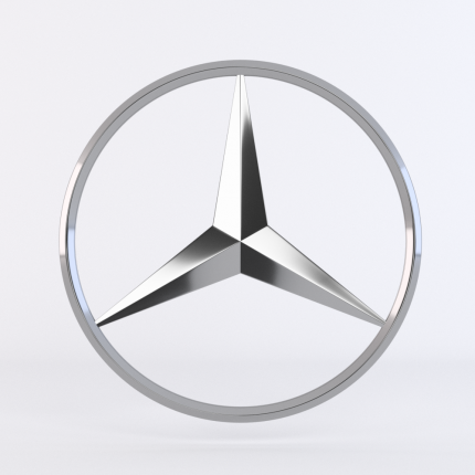 эмблема MERCEDES-BENZ A4478175800