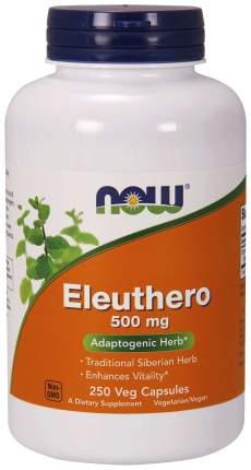 Для нервной системы NOW Eleuthero 500 мг 250 капсул