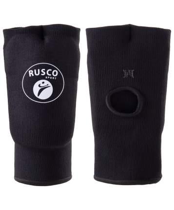 Накладки на кисть Rusco Sport, хлопок, черный (L)