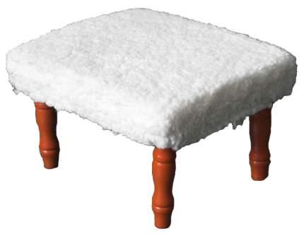 Табурет-подставка для ног Matra AG с мягкой обивкой Белый 06260