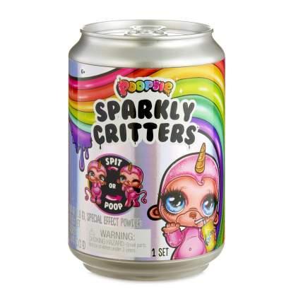 Игровой набор MGA Entertainment Игрушка-слайм Poopsie Sparkly Critters в банке газировки