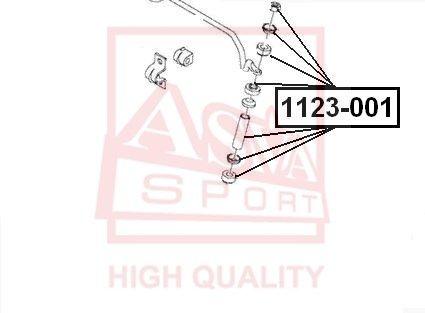 Стойка стабилизатора ASVA 1123-001