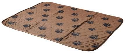 Пеленка для домашних животных V.I.Pet 60 х 40 см, коричневая
