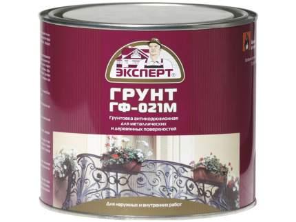 Грунтовка ЭКСПЕРТ Грунтовка ГФ-021М кр-коричневый  1,8кг