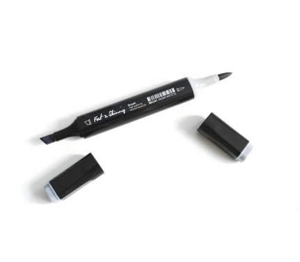 Спиртовой двухсторонний маркер Fat&Skinny для скетчей и дизайна