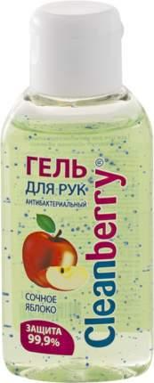 """Гель для рук антибактериальный Cleanberry """"Сочное яблоко"""" 60 мл"""