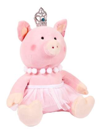 Мягкая игрушка Chuzhou Greenery Свинка принцесса с короной 19925