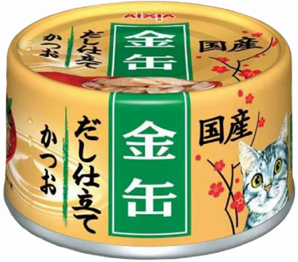 Консервы для кошек AIXIA «Kin-Can» Dashi, полосатый тунец в 70г
