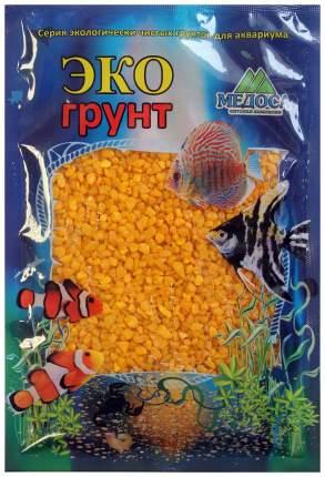 Грунт для аквариума ЭКОгрунт Мраморная крошка Оранжевая 2 - 5 мм 1 кг