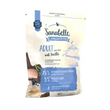 Сухой корм для кошек Bosch Sanabelle Adult, форель, 0,4кг