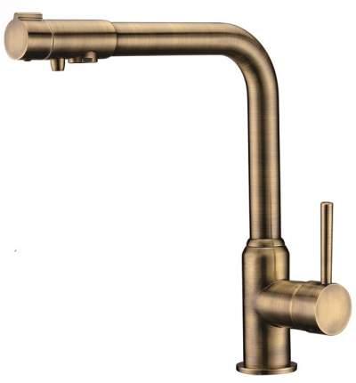 Смеситель для кухни Kaiser Teka 13044-3 с подключением к фильтру Bronze