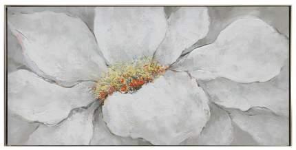 Репродукция в раме 123x63 см Hoff Цветок