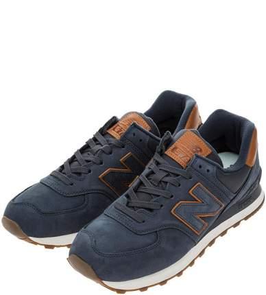 Кроссовки мужские New Balance ML574NBD/D синие/коричневые 9 US