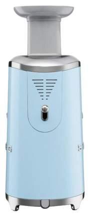 Соковыжималка шнековая Smeg SJF01PBEU blue