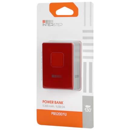 Внешний аккумулятор InterStep PB52001U B 5200 мА/ч (IS-AK-PB52001UR-000B20) Red