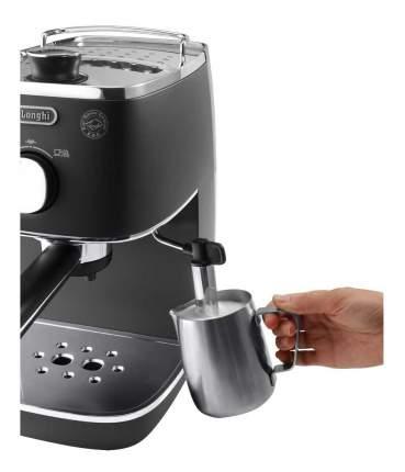 Рожковая кофеварка Delonghi ECI341.BK Black