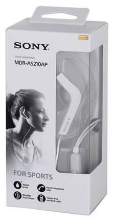 Наушники Sony MDR-AS210AP White