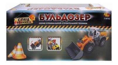 Бульдозер Abtoys c-00162