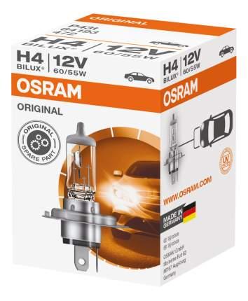 Лампа галогенная автомобильная OSRAM H4 12V 60/55W P43T Original Line (64193)