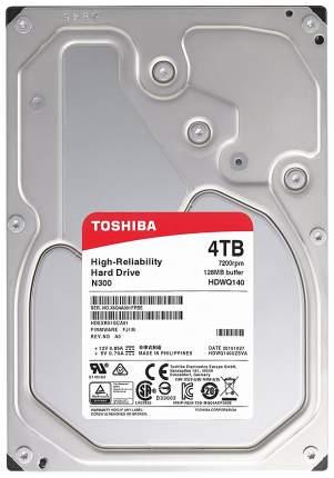 Внутренний жесткий диск Toshiba N300 4TB (HDWQ140UZSVA)